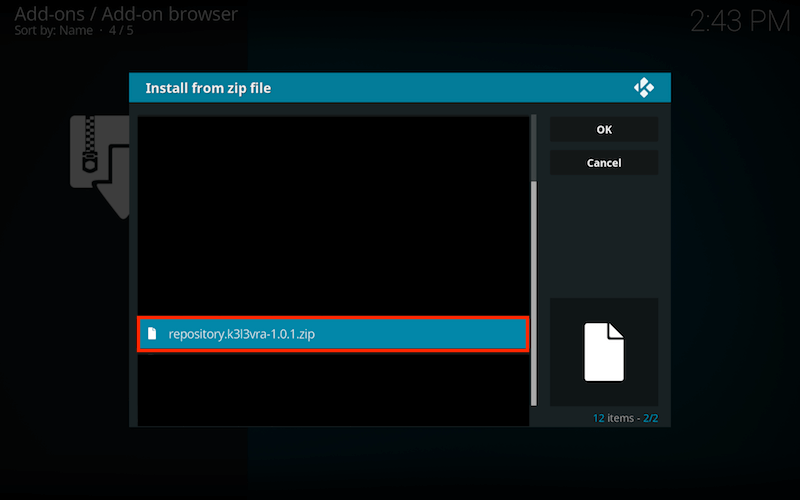 Install 1Channel Kodi Addon Step 4
