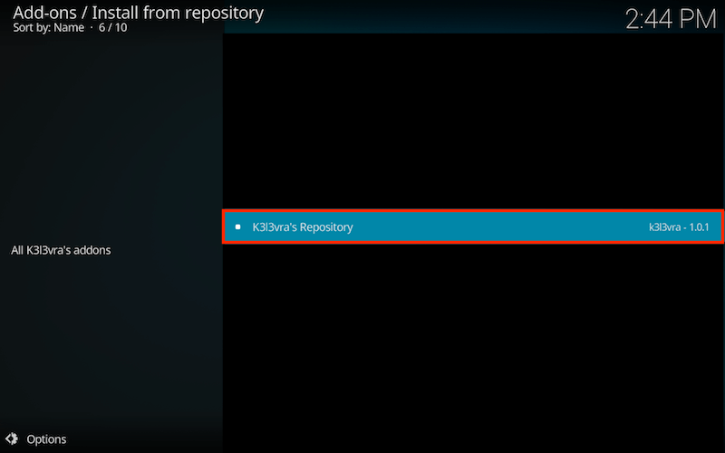 Install 1Channel Kodi Addon Step 7